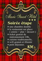 Soirées étapes à la Roche sur Yon au Marie Stuart Hôtel & Restaurant